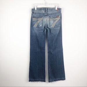 7 For All Mankind | Grommet Dogo Flare Leg Jeans
